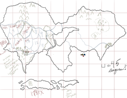 Unnamed world map WIP 4 by hugfiend