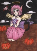 Mew Ichigo Halloween by StrawberryLoveAlways