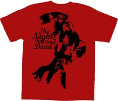 Night of the Living Dead Red by willblackwell