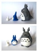 Totoro by Maieth