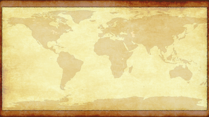 World Map Wallpaper by Freedoom2004