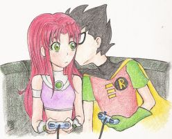 A kiss for the winner by lovesofkory88