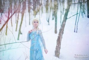 Elsa - Frozen by lilie-morhiril