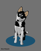 Husky - Requested by Diamond-Racer by Blekee