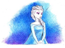 Elsa by youngmoons