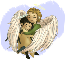 Angel bros by Tsirpx3