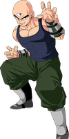 Tien (Saiyan Saga) MLL Redesign by MAD-54