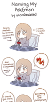 Naming my Pokemon by mewDoubled