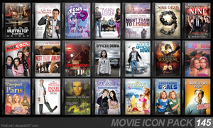 Movie Icon Pack 145 by FirstLine1