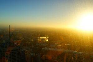 Sunset at Sydney by bao2100000