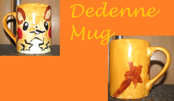 Dedenne Mug by ShadowWolfZ