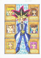 Old Work: Yu-Gi-Oh! fan art (2005) by d13mon-studios