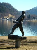 Statue of rowing by megymaca