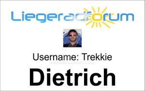 Liegeradforum ID Card by CmdrKerner