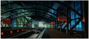 Gotham Train Station by thegryph