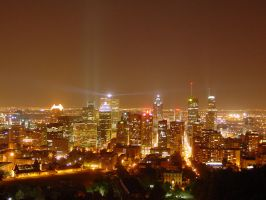 Montreal City Lights by n8wish