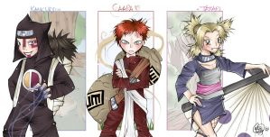 . Suna No Shinobi . by cutie-lily