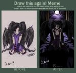 Draw this again - Dark Angel by Sacrinoxia