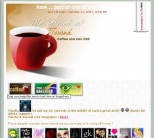 Coffee and milk CSS by mj-coffeeholick