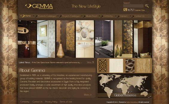 Gemma Website by spiritoo