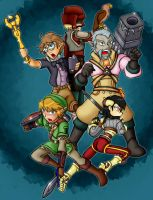 The Hyrule Resistance-Colored by Ryu-Gi