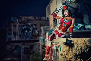 Moon Moxxi by MartinWongArts