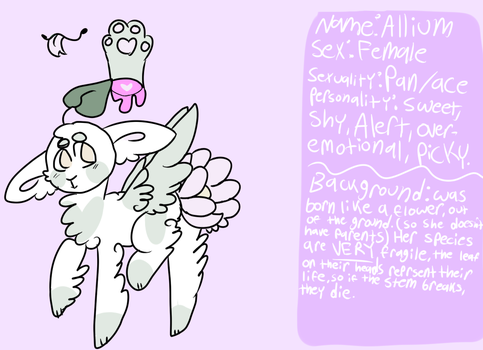 Allium Reff Sheet by SweaterMaster