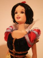 disney snow white doll ooak by lulemee