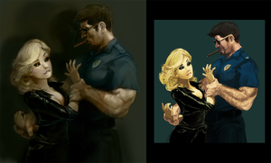 Good Cop Bad Cop - Improvement by worksofheart