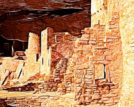 Cliff Palace Mesa Verde by crypticfragments