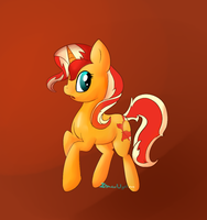 Sunset Shimmer by MochiFries