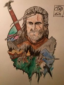 Geralt of Rivia. by Tryssya