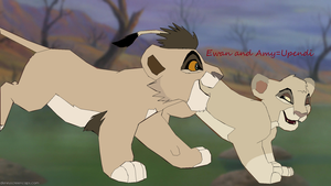 Request For ArticWolf14: Amy and Ewan by pizzarules5