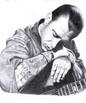 Mike Ness by Santo69