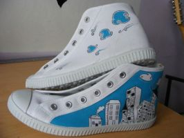Skyline shoes by LinMac