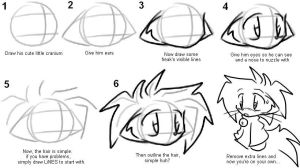 How 2 Draw Tei - Hair-Guide by tei