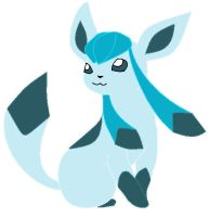 glaceon by lucarioD