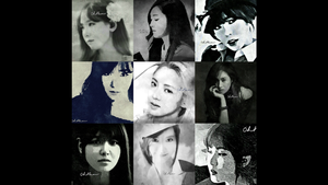 SNSD My Fanart (Preview) by systerbem