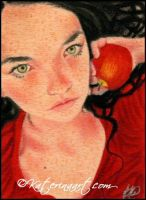 Snow White's Awakening - ACEO by Katerina-Art