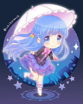 Chibi-Com : Starry Night by IchigoRanch