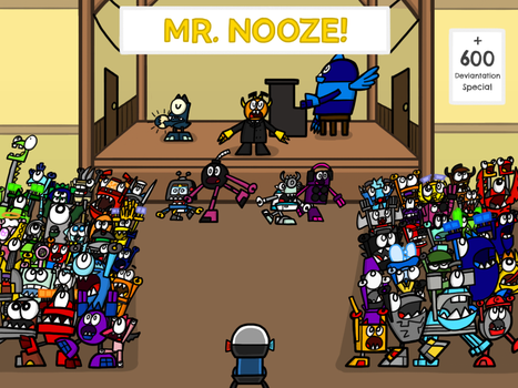 Don't Mess With Mr. Nooze! (600d Special) by AngryBirdsandMixels1