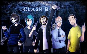 Clash B by VanessaGiratina