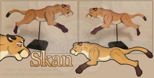 [Commission] Skan Drake by StrayaObscura