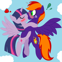 COM: TwiJade - Love at the skies~ by Appimena