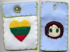 iPhone Case: Lithuania by Lady-Elsewhere