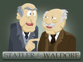 Statler and Waldorf by Mr-MegaTronic