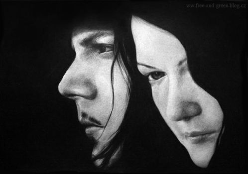 The White Stripes by Teries-art