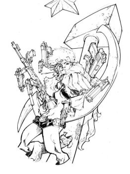 BLACK WIDOW_90 minutes by EricCanete