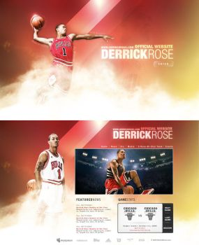 Derick Rose 2009 by skyrill