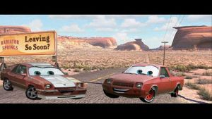 Cars Charger and Rampage by Steven304